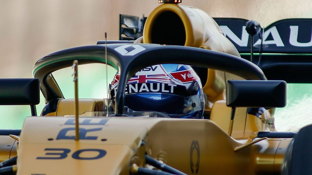 Jolyon Palmer discusses Formula 1's new 'halo' cockpit protection