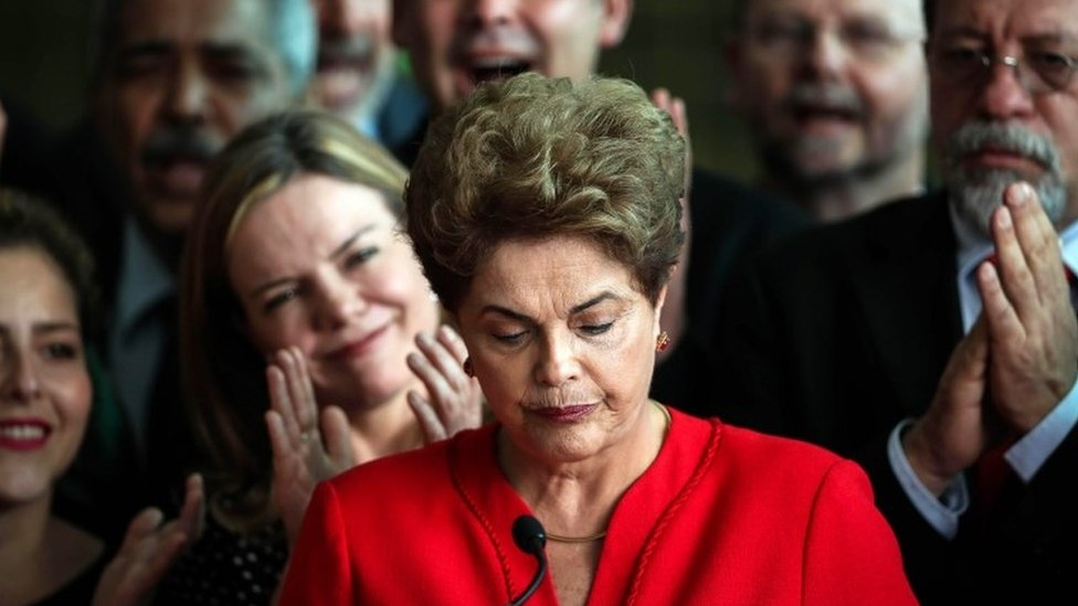 Brazil President Dilma Rousseff removed from office by Senate