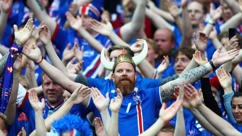 Aficionados de Islandia