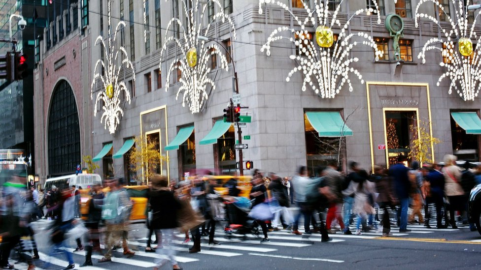 US growth rate hits three-year low