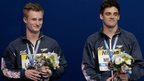 Jack Laugher (left) and Chris Mears