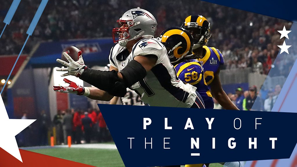 Retiring Gronkowskis last big play