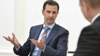 US pours scorn on Assad Moscow trip