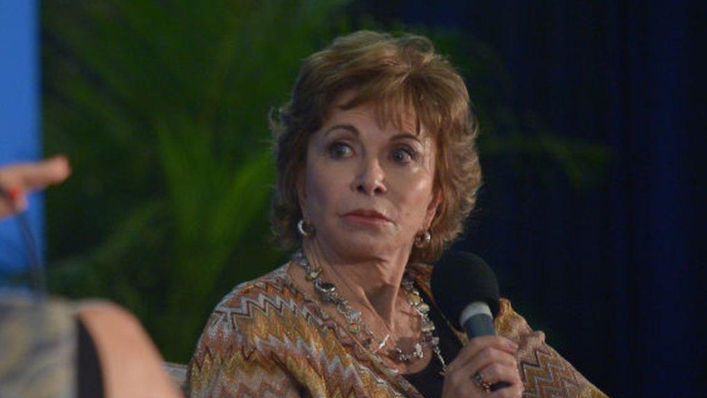 National Book Awards: Isabel Allende warns of 'dark time'