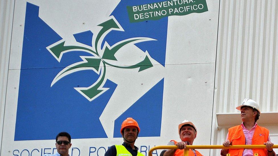 Juan Manuel Santos en Buenaventura
