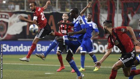 USM Alger vs Al Hilal