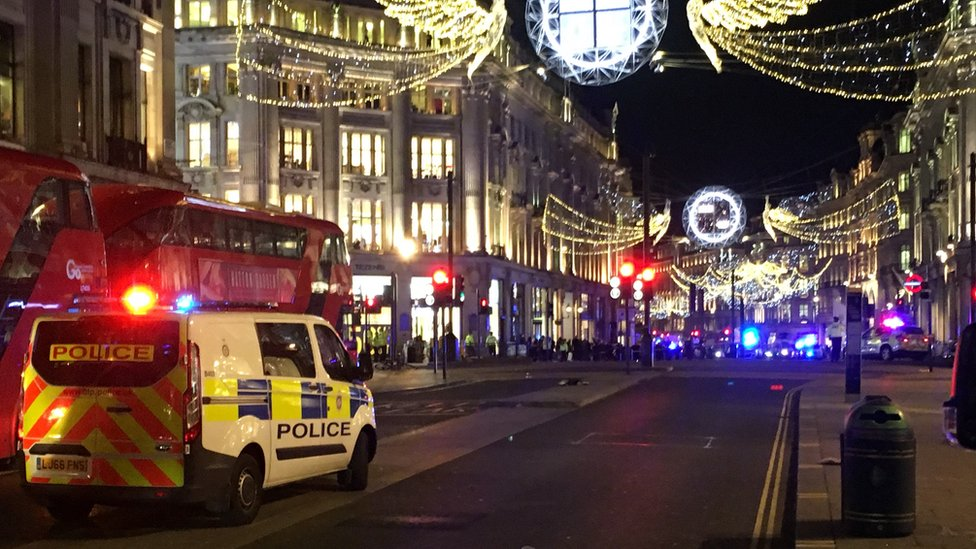 Oxford Circus Tube station: Police respond to reports of shots fired