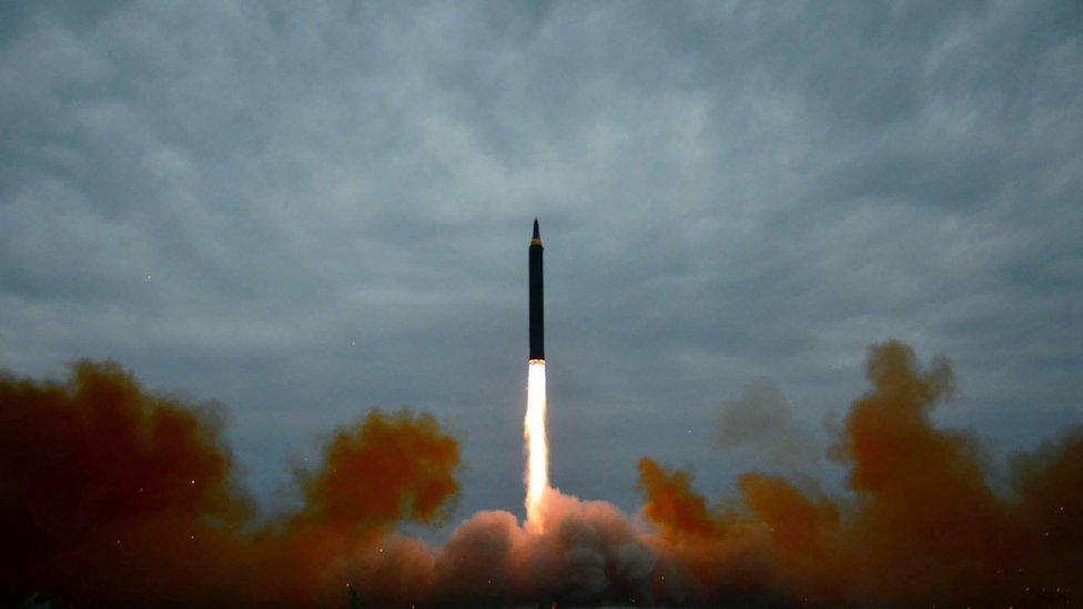 Roket Hwasong 12