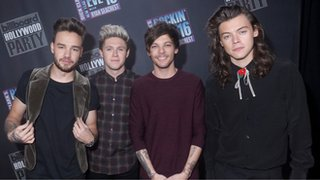 BBC - Newsbeat - One Direction beat Adele and Ronaldo on celebrity pay across Europe says Forbes