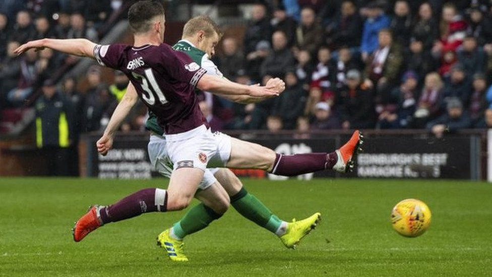 Teenager charged with Hearts v Hibs hate crime