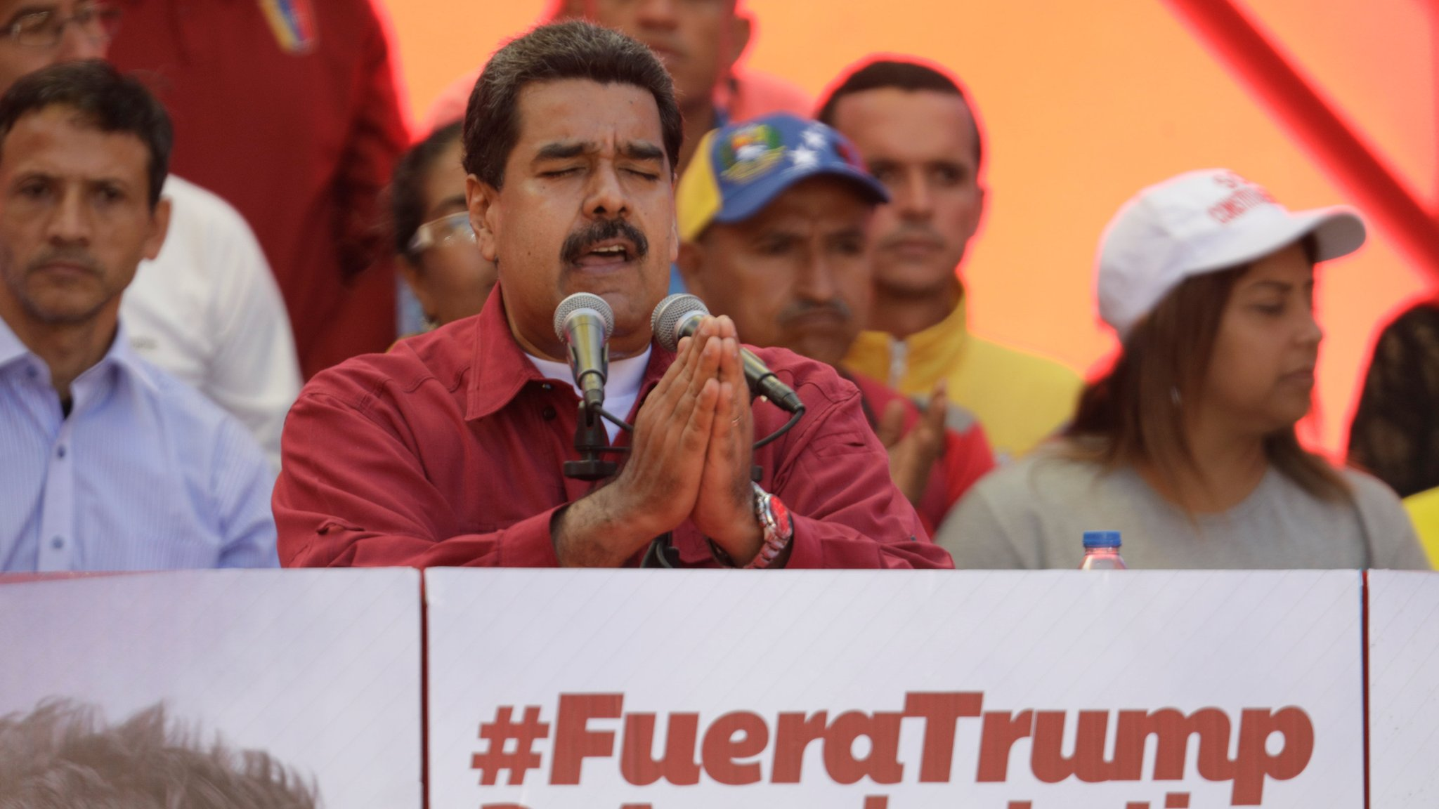 Venezuela's Maduro orders military drill after Trump comments