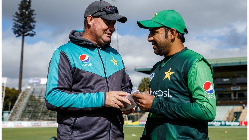 'مکی آرتھر صاحب! یہ پاکستان کا ڈریسنگ روم ہے'