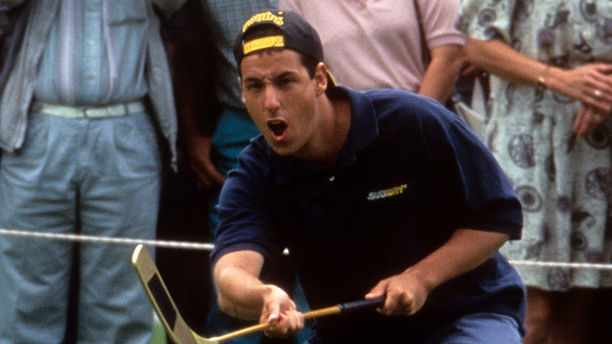 My longest drive this year is 425 yards: Meet the real life Happy Gilmore
