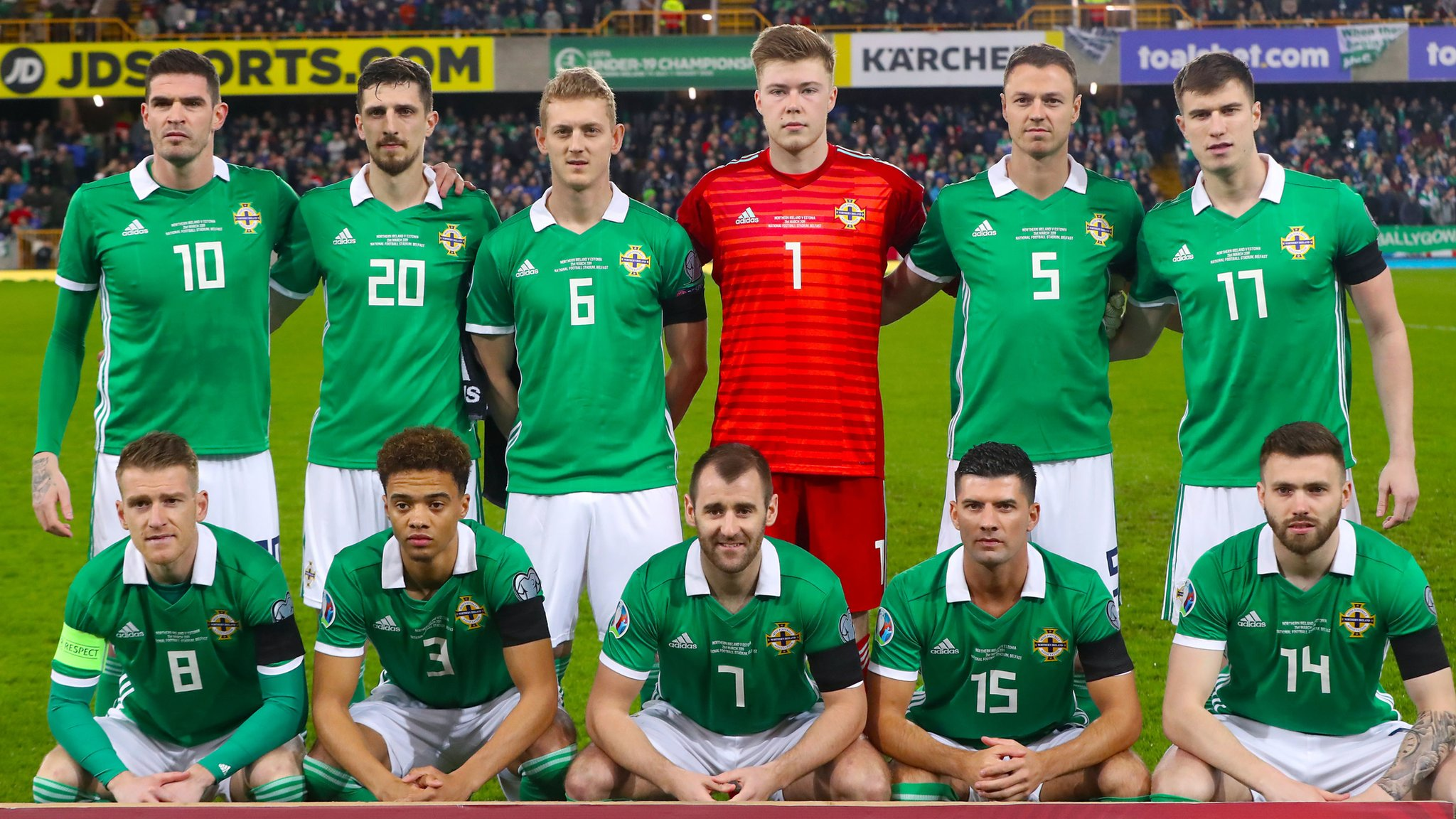 Northern Ireland v Estonia: rate the players