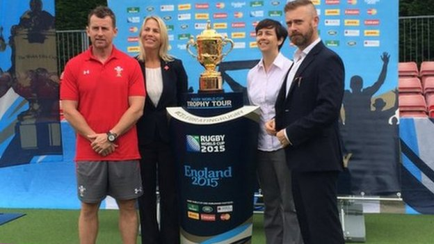Rugby World Cup Trophy Event