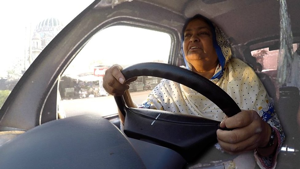 'How a bus saved my life': Life as a widow in Pakistan
