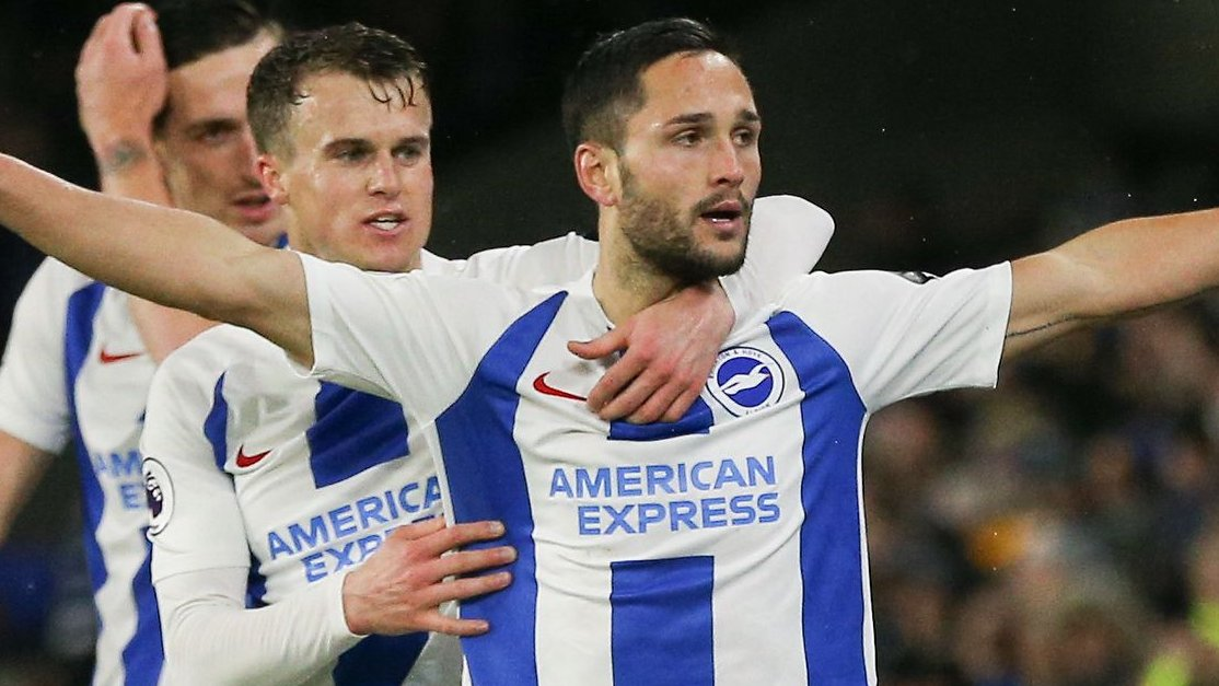 Two penalties, two subs scoring & a sending-off - Brighton beat Palace in thriller