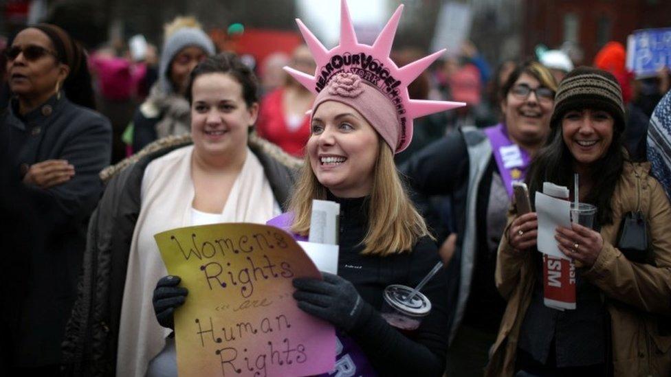 Donald Trump protests: Washington leads global rallies