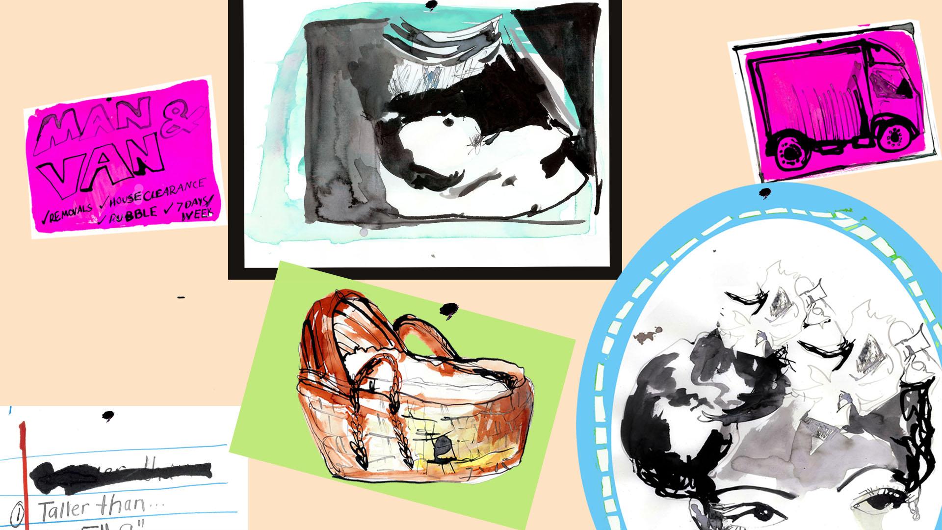 嬰兒籃、超聲波照片
