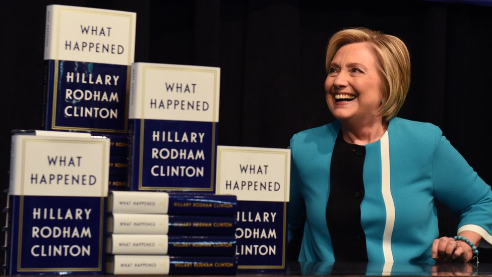 Hillary Clinton memoir What Happened sells 300,000 copies
