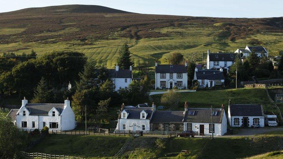 Scotland's highest village?