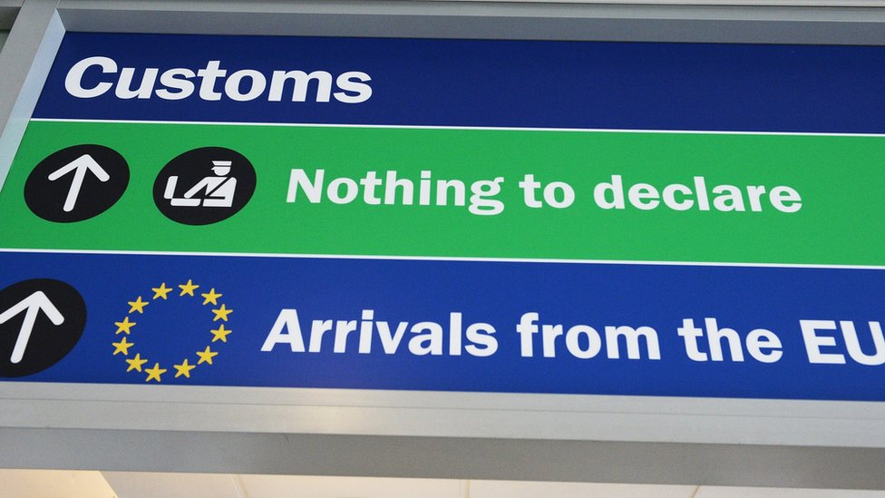 Reino Unido es ahora parte de la unión aduanera europea.