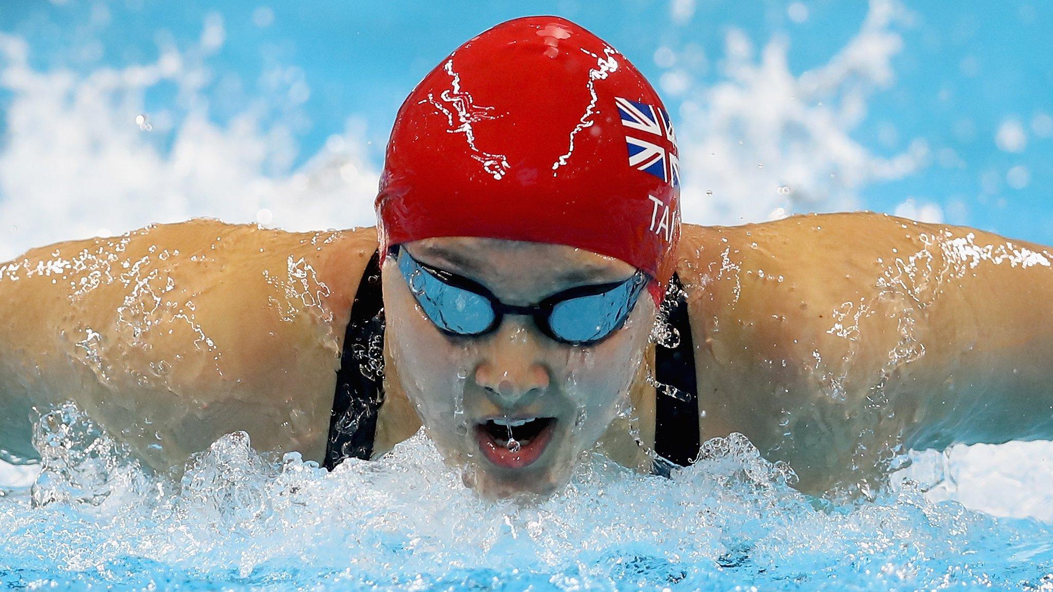 Britain's Tai & Firth set para-swimming world records
