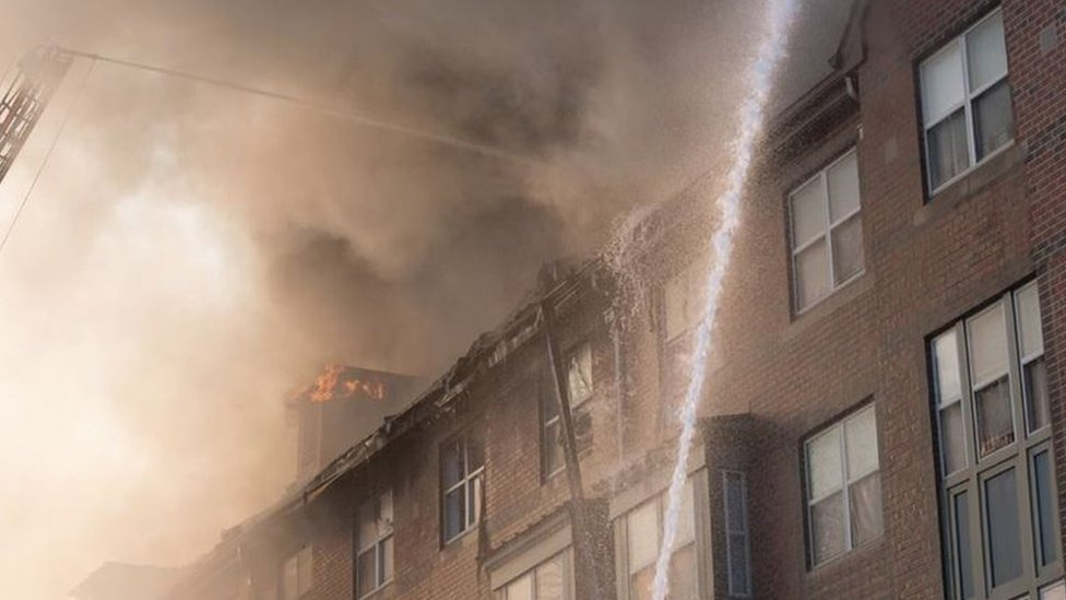 US man, 74, found alive days after fire in Washington DC