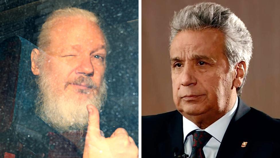 'Assange smeared faeces in Ecuador embassy,' says president