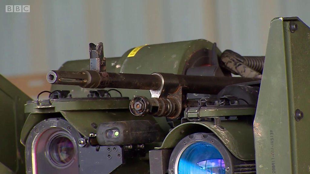 Tazama jeshi la Uingereza likijifunza kutumia roboti vitani, hivi ndivyo vita vitakuwa siku za usoni?