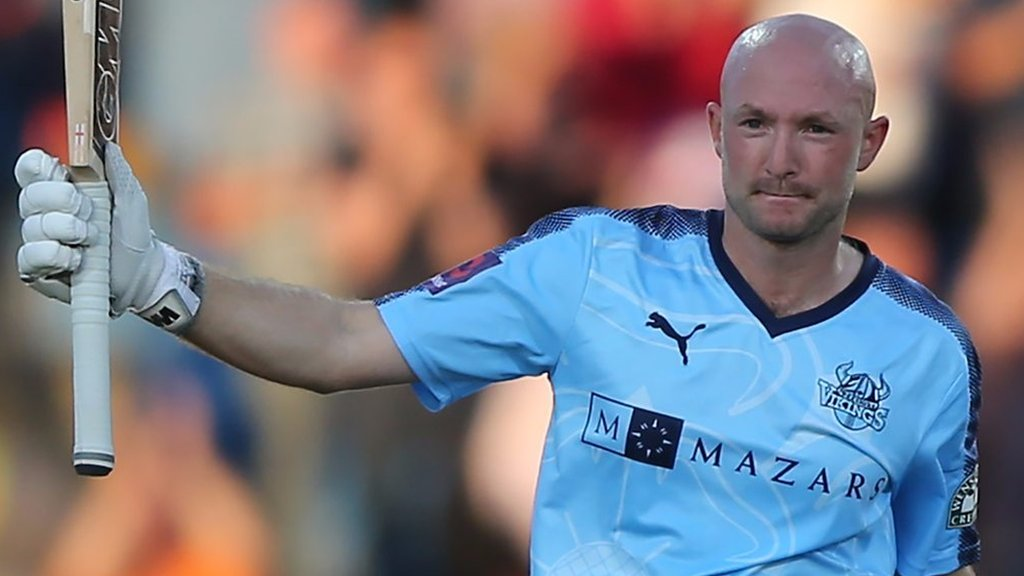 T20 Blast: Yorkshire's Adam Lyth hits domestic record 161
