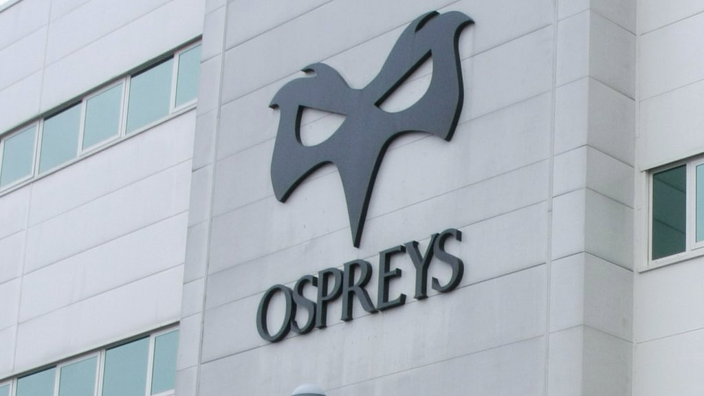 Ospreys: Debts written off as chairman warns of 'challenges'