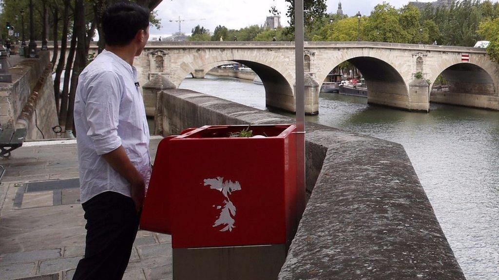 ICYMI: Oui oui! Paris's new and very public toilets   BBC