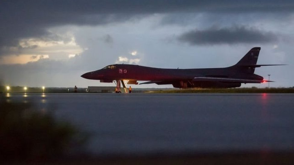 وزارة الدفاع الأمريكية: طائراتنا المقاتلة حلقت قرب حدود كوريا الشمالية