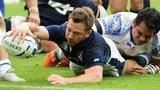 Scotland's Greig Laidlaw scores