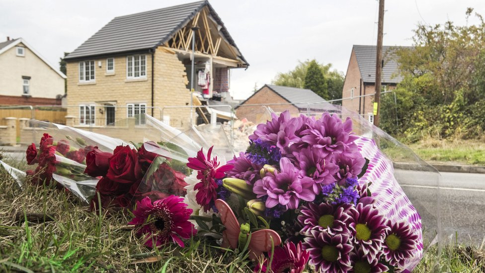 Barnsley house crash: Four men charged over fatal lorry house crash | BBC
