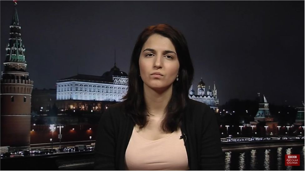 فريدة روستاموفا تقول إن سلوتسكي لم يحاول الاعتذار لها