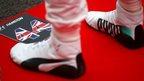 Hamilton has world title at his feet