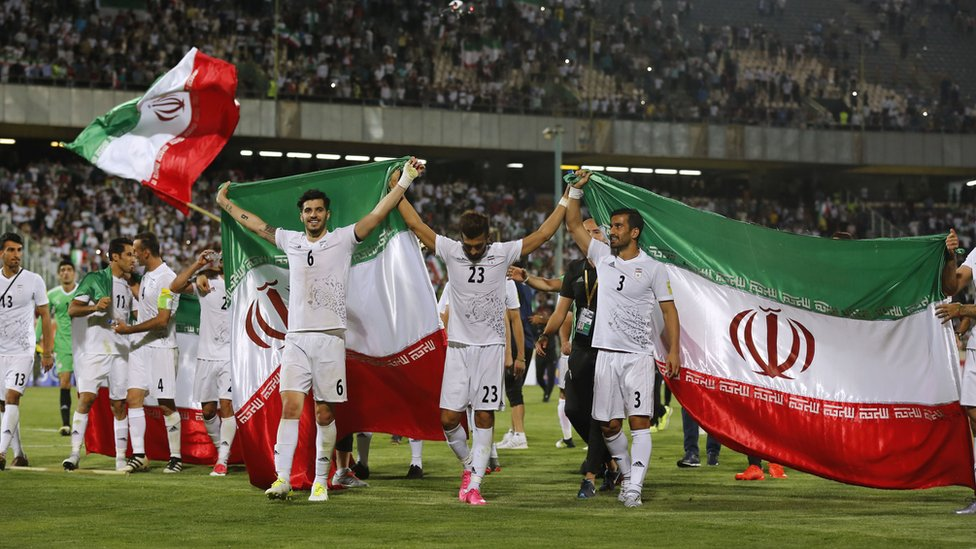 Irán es una de las selecciones que ya están clasificadas a la cita mundialista del próximo año.