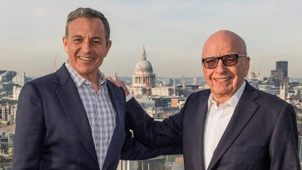 Walt Disney buys Murdoch's Fox for $52.4bn