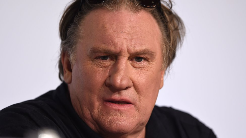 Gérard Depardieu: French actor accused of rape