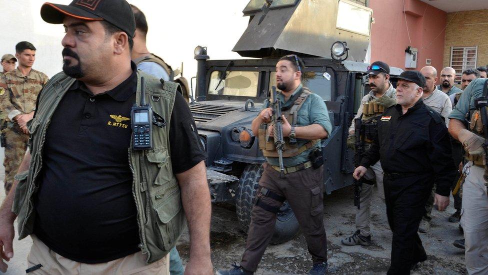 الرئيس العراقي حيدر العبادي