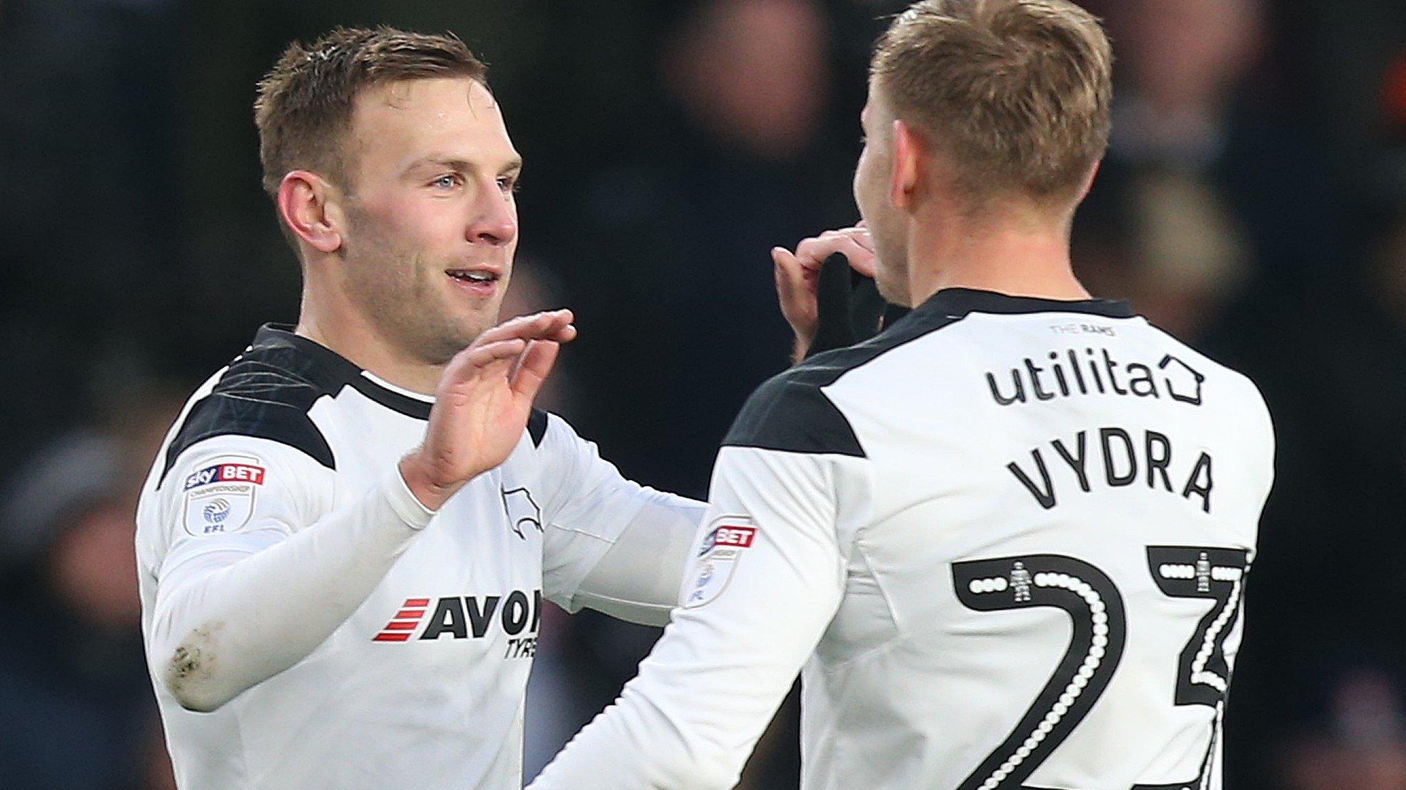 Derby beat promotion rivals Villa