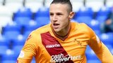 Wes Fletcher fires Motherwell in front against Inverness