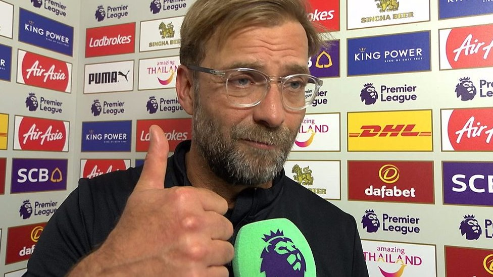 Leicester 2-3 Liverpool: 'Three points are proof we are still here'
