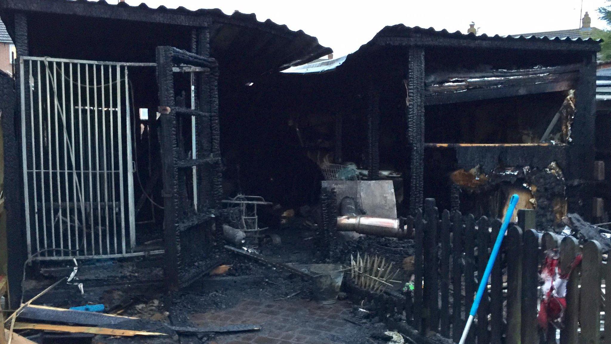 Dog dies in Littlemoor kennels blaze