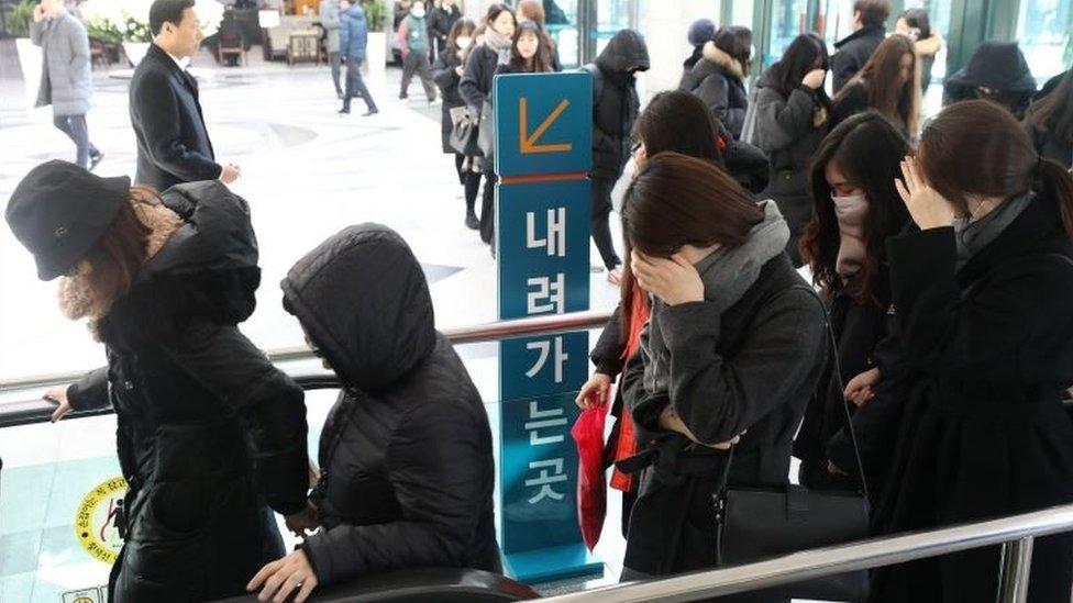 Seguidoras de Kim Jong-hyun