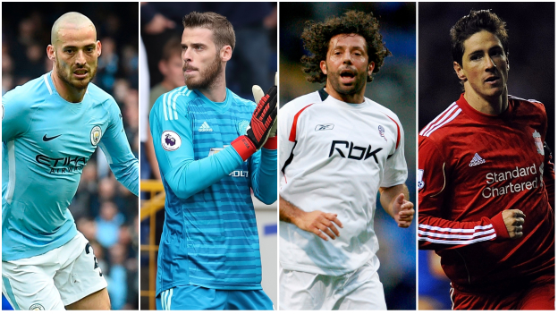 Vote: Who is the Premier League's greatest Spaniard?