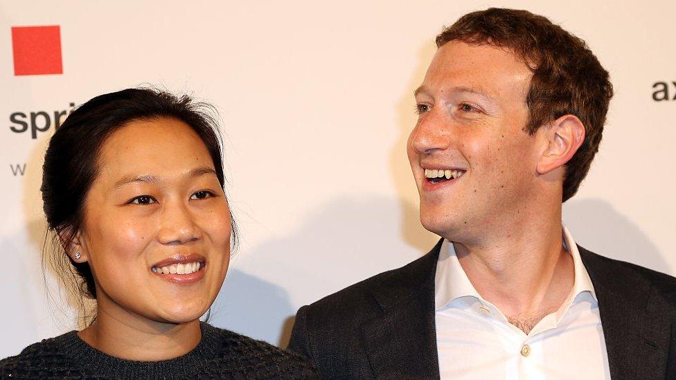 Priscilla y Mark Zuckerberg