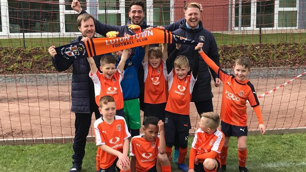 Luton Town: Under-8s win the International Cup after beating Juventus 6-1